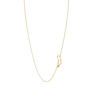 My Africa Diamond Necklace in 14K Yellow Gold, , large image number null