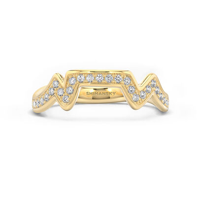 Table Mountain Diamond Ring in 14K Yellow Gold, , large image number null