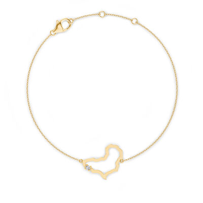 My Africa Diamond Bracelet in 14K Yellow Gold, , large image number null