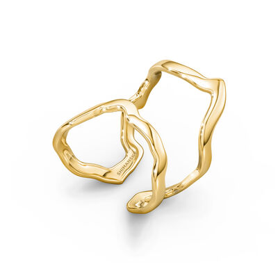 My Africa Wrap Ring in 18K Yellow Gold, , large image number null